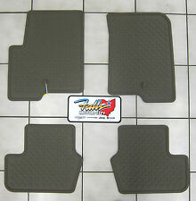 2007 2016 Jeep Patriot Compass Beige Rubber Slush Floor Mats Front U0026 Rear  Mopar