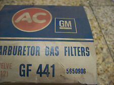 NOS AC GF-441,GAS FILTERS,1968-1975 Buick, Chevrolet,Cadillac, Olds,Pontiac