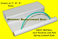 Swimming Pool Replacement Skimmer Weir Door Float skim leaf easy install repair