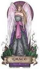 "Angel Virtues -GRACE sticker magic fantasy fairy - one of 5 ""Virtues"" designs"