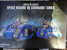 Warhammer world exclusive Space marine HQ command tanks (40k)