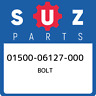01500-06127-000 Suzuki Bolt 0150006127000, New Genuine OEM Part