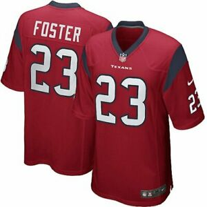 Nike NFL Youth Boys Houston Texans Arian Foster #23 Game Jersey, Red
