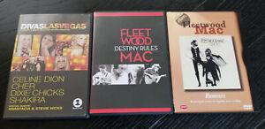 Fleetwood Mac Stevie Nicks DVD lot Classic Album Rumours Destiny Rules VH1 Divas