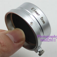 New Metal Lens Hood for Leica Leitz Elmar 5cm 1:3.5 50mm f/3.5 M39 Lens