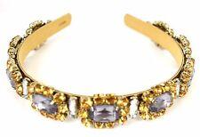 J. Crew Headband Grand Stone Jeweled Metallic