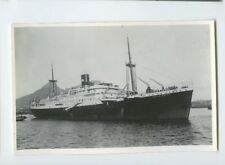 MS Tjitjalengka Photo Postcard - KJCPL Royal Interocean Lines 1884