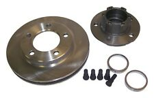 76-78 CJ FRONT HUB & ROTOR ASSEMBLY WITH 1 1/8 IN. THICK ROTOR W/ 6 BOLT FLANGE