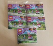 Lot of 5 Lego Friends Set 30396 Emma's Cupcake Stand