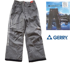 Gerry Girls Snowpants, Mid Gray Heather, Size S (7-8)