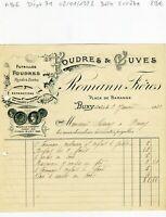 Dépt 71- Buxy - Belle Entête Secteur de la Tonnellerie du 02/01/1928 A Voir !!!!