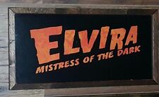 Elvira Mistress of the Dark Wall Plaque~~Custom Made~~