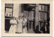 Women By Cole Bros Big Railroad Circus Sign CLOVIS NM Tuesday Sept 14 1948 Photo
