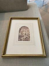 More details for antique framed portrait figure lady sketch / painting art