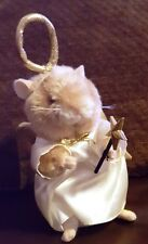 """Cute 6"""" Furry Animal Angel Battery Operated (for parts or repair)"""