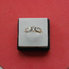 Unbranded Aquamarine Natural Yellow Gold Fine Rings