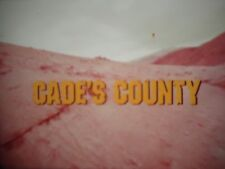 16 mm       Cade's  County  Glenn Ford O.J. Simpson Don Porter 1972