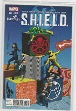 Shield #1 Hastings Variant Marvel Comics 2014 NM+