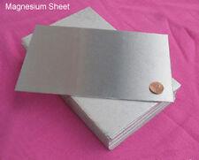 "Magnesium Sheet 8"" x 5"" USA SELLER FREE SHIPPING"
