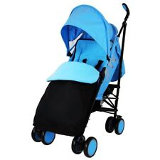 ZETA Citi Stroller Buggy Pushchair - Ocean Complete With Footmuff Raincover