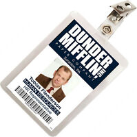 The Office Toby Flenderson Dunder Mifflin ID Badge Cosplay Costume Name Tag TO-8