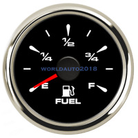52mm Digital Motorcycle Fuel Level Gauge Car Fuel Meter  E-F Range for Auto Boat