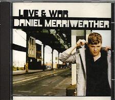 Daniel Merriweather - Album - Love & War - guter Zustand  Sammelversand möglich