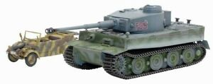 Dragon Armor 60371 Tiger I Hybrid, Tiger-Gruppe Fehrmann + Kubelwagen