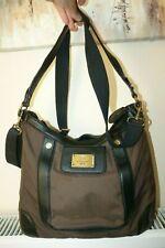 Ladies Tommy Hilfiger Brown Canvas Messenger Bag