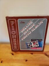 Pioneer Deluxe Photo Album Pmv-206 Cover And Pins Red