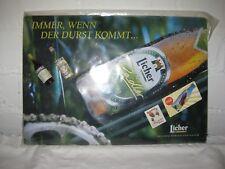 """Magnettafel """"Licher Bier"""" Pinnwand Memobords incl.4 Magnete 40x35cm Blechplakat"""