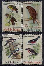 1970-1971 NORFOLK ISLAND BIRDS PART II SET OF 4 (22 JULY 1970) FINE MINT MNH/MUH