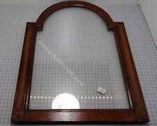 DOOR FOR AN ANTIQUE DUTCH FRIESIAN TAIL CLOCK HOOD WITH GLASS