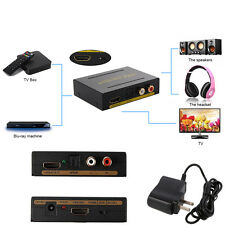 1080P HDMI to HDMI Optical + SPDIF + RCA L/R Extractor Converter Audio Splitter