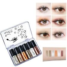 6Pcs/Set Professional Shiny Glitter Women Liquid Eyeliners Eye Makeup