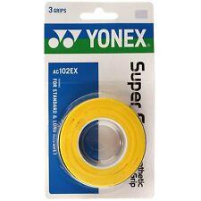 Yonex Overgrip Super Grap yellow 3er Griffbänder Tennis Squash Badminton