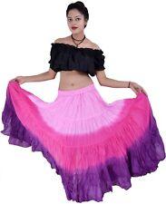 Algodón 12 YD (approx. 10.97 m) Falda de baile danza del vientre