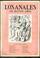 LOS ANALES DE BUENOS AIRES # 5 LITERARY MAGAZINE JORGE LUIS BORGES DIRECTOR