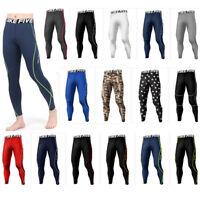 Take Five Mens Skin Tight Compression Base Layer Running Pants Leggings 09