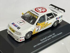 1/43 VAUXHALL CAVALIER 16V BTCC 1995 BRITISH TOURING CAR JOHN CLELAND  ATLAS