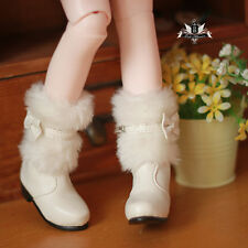 1/4 BJD Shoes MSD Supper Dollfie bow Snow white Boots Luts AOD DOD SOOM MID AF