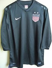 Women's Nike USA Soccer Authentic 3/4 Sleeve Goalkeeper Jersey XL NEW 539041