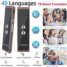 Coomir Translaty MUAMA Enence Smart Traduttore istantaneo delle Lingue vocali Portatile in Tempo Reale Oro