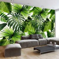 Mural Wallpaper Tropical Rain Forest Banana Leaves Home Business Wall Decoration