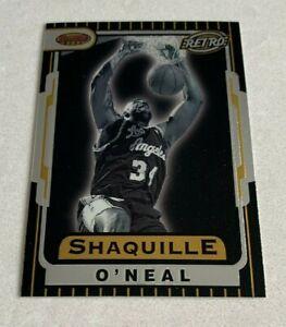 NBA SHAQUILLE O'NEAL Orlando Magic 1997-98 Bowman's Best Retro Trading CARD #T88
