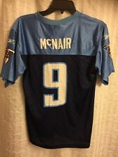 Tennessee Titans Reebok Youth Jersey #9 Steve McNair Size L (14-16)