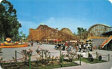 1950's Roller Coaster - Montaña Rusa - Chapultepec Amusement Park Mexico City