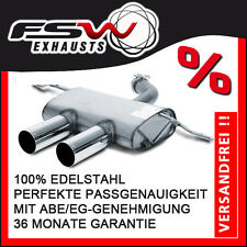 FSW Sport Endschalldämpfer R32-Look VW Golf V GTI 147kW + 169kW