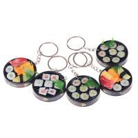 Simulation Sushi Key Chain Keyring Charm Pendant Purse Keychain WA