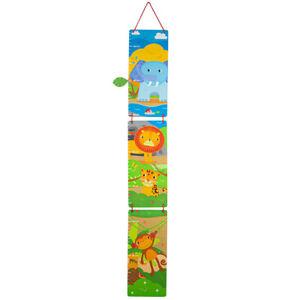 Tidlo Wooden Jungle Height Chart Growth Grow Children Kid Bedroom Furniture